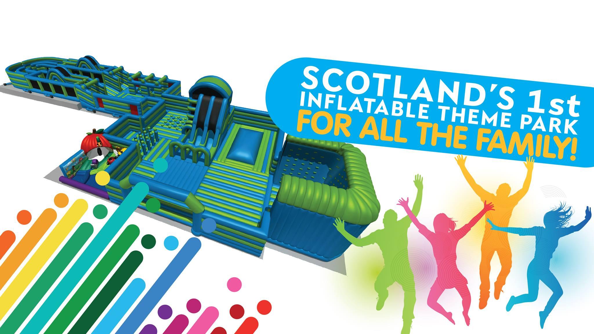 Scotland's 1st Inflatable Theme Park