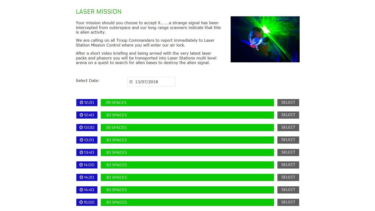 Laser Station